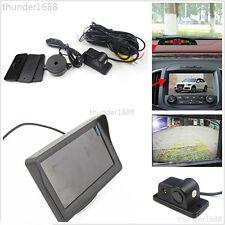 "Radar Sensor Vehicle Reverse Camera Waterproof + HD 4.3"" LCD Colourful Monitor"