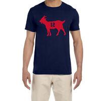 "New England Patriots ""Tom Brady Goat"" T-Shirt"