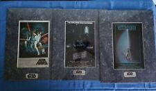 Star Wars (original trilogy) Matted ChromArt Collectors Ed - SEALED