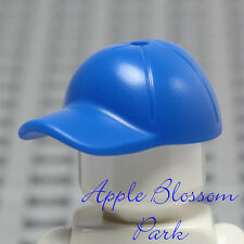 NEW Lego Minifig BLUE BASEBALL CAP - Boy Girl Minifigure Sports Hat Head Gear