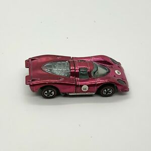 Hot Wheels Redline 1969 Porsche Hot Pink  917 Very Nice!