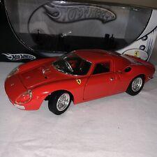 Hotwheels 1:18  Ferrari 250 LM Red Rare