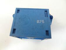 ORIGINALE BMW E38 740i stossschalter Relè Centralina 8350284 Blu