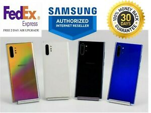 SAMSUNG NOTE 10+ PLUS SM-N975U1 256GB BLACK-AURA GLOW-WHITE UNLOCKED FOR ALL