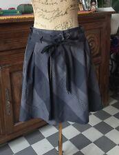 jupe comptoir des cotonniers taille 36, doublé, 2 poches comme neuve
