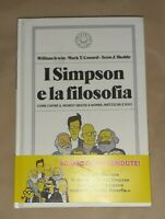 I Simpson e la filosofia - Skoble, Conrad, Irvin -  Blackie, 2020