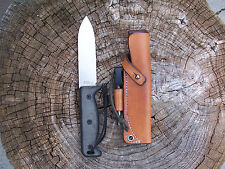 Ontario Blackbird SK5 LF Custom Leather Bushcraft Sheath (sheath only)