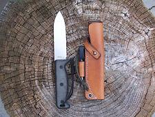 Ontario Blackbird SK5 LF Custom Leather Bushcraft Sheath