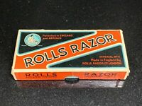 Vintage Rolls Razor Imperial No 2 Safety Razor Kit Original Box Made In England
