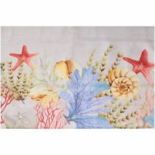 Better Homes Sealife Tablecloth 60 x 102 Starfish Seashell Ocean Coral Rectangle