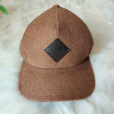 Vans Off The Wall Grove Brown Wool Blend Cap Adjustable Snapback Hat