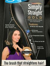 jml simply straight brush gold