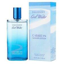 Cool Water Caribbean Summer Edition by Davidoff 4.2 oz EDT Cologne for Men  NIB