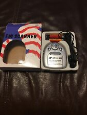 New 90's FM Mini Radio W/light And Headphones Tested And Working