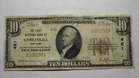 $10 1929 Cobleskill New York NY National Currency Bank Note Bill Ch. #461 RARE!