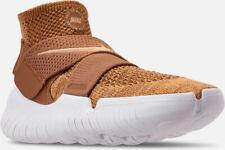 fe47663ac1 Men's Nike Free RN Run Motion 2018 FK Flyknit Golden Beige Sz 13 942840 201