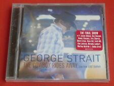 The Cowboy Rides Away: Live from AT&T Stadium by George Strait (CD, Sep-2014, MC