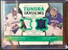 13-14 Artifacts Tundra Tandems Patch Emerald /36 #TTLS Luongo Schneider Canucks