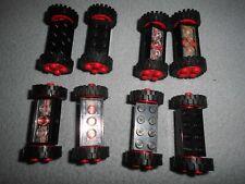 1 x Lego System Bogenstein schwarz 1x8x6 geschlossen rund Bogen Brücke Tor Porta