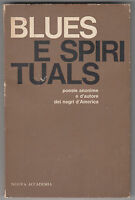 CARLO IZZO-BLUES E SPIRITUALS POESIE -NUOVA ACCADEMIA EDITRICE 1963-O140