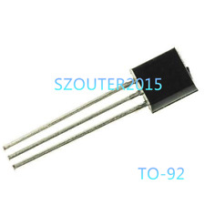 50PCS BC557-B Transistor NPN 45V 01A  TO-92 NEW