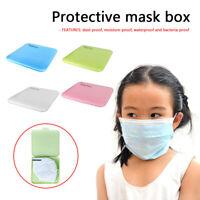 Portable Moisture-proof Storage Box Mask Case Storage Box Temporary Storage YK