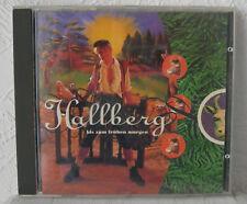 """Audio-Schlager & Deutsch-Rock-CD Album HALLBERG """"Bis zum frühen Morgen"""" 13 Titel"""