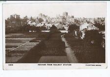 Postcard Hexham from Railway Station RP Hylton & Sunderland cover 1907