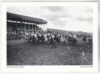 "*Postcard-""The Frontier days"" (1908) *Cheyenne, Wyoming (#195)"