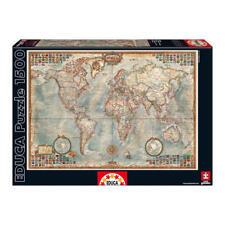 Educa Borras puzzle 1500 piezas ''''mapamundi