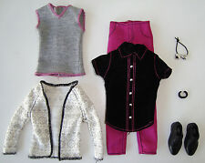 Barbie/ KEN Clothes/Fashions Pants, 2-Shirts, Cardigan, Bow Tie, Shoes NEW!
