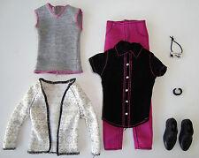 Barbie/ KEN Clothes/Fashions Pants, 2-Shirts, Cardigan, Bow Tie, Shoes NEW!
