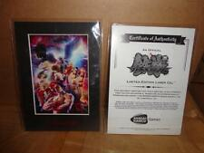 TEKKEN 6 LIMITED EDITION LASER CELL WITH CERTIFICATE OF AUTHENTICITY NEW