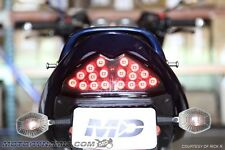 2007-2009 Suzuki GSF1250 GSX650F GSX1250F SEQUENTIAL Signal LED Tail Light SMOKE
