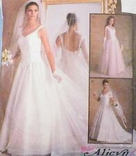 Misses Bridal Gowns Sewing Pattern Multi Size 6 8 10 McCalls Alicyn Bridesmaid