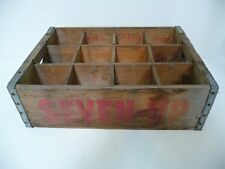 Vintage Wooden Seven-UP 7-UP Crate Vancouver - Kelso