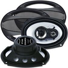 """Crunch Speaker GTi 693 ( 6x9"""" ) 3 Weg Triaxial Oval Lautsprecher Paar"""