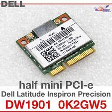 Wi-Fi WLAN WIRELESS CARD NETZWERKKARTE FÜR DELL MINI PCI-E 0K2GW5 DW1901 NEW D02