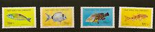 Turca de Chipre: 1996 Peces Set Sg 418-21 Menta desmontado