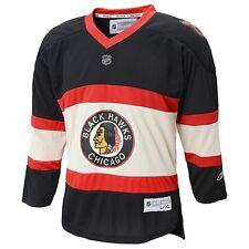 ($70) REEBOK Chicago Blackhawks THROWBACK nhl Hockey Jersey YOUTH KIDS BOYS (xl)