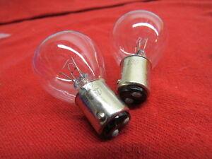 1919-34 Ford NEW 6 volt headlamp bulbs (pair) Model A T flathead  B-13007-D