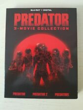 Predator 3 movie collection Blu Ray with Slip Cover
