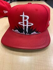 NEW ERA 9FIFTY SNAPBACK HAT CAP NBA Houston Rockets Red Black White ADULT