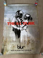 BANKSY Think Tank Blur Original Album Launch Poster