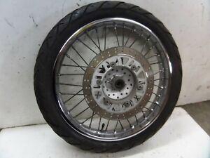 Kawasaki BN125 Eliminator 2005 front wheel with FREE brake disc and tyre