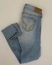 Hollister Super Skinny 00S 23W Light Wash Low Rise Jeans