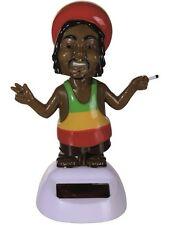 Solarfigur Solar Wackelfigur Rastafari Jamaica Scherzartikel Wichtelgeschenk