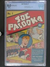 Joe Palooka #1 - CBCS 8.0 VF - Columbia 1942 - 2nd HIGHEST GRADE!!!