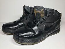 68e5a16ed6c 2008 Nike Zoom LeBron 6 VI Mens 15 The Six 346526 001 Black Gold Basketball