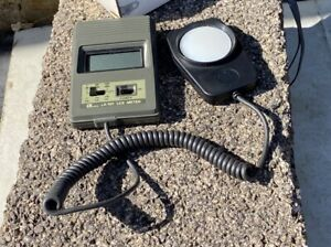 Lutron LX-101 Lux Meter Working Order boxed with instructions free uk p&p